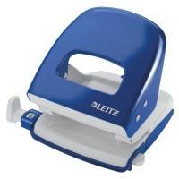 Leitz hulapparat 5008 2-huls blå, 30 ark