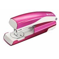 Leitz 5502 WOW hæftemaskine 30ark pink metallic