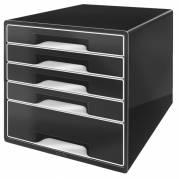 Leitz Desk Cube skuffekabinet med 5 skuffer sort