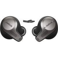 Jabra Evolve 65t Trådløse hovedtelefoner m.mikrofon Titanium Sort