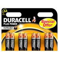 Duracell Plus Power batteri AA, pakke a 8 stk