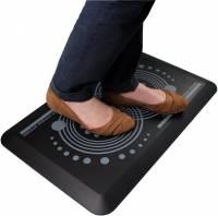 Floortex AFS-TEX 2000 ergonomisk måtte 80x50cm grå