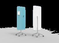 Lintex Flow Mobile glastavle 65x195cm Cool, koboltblå