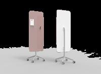 Lintex Mood Flow Mobile glastavle 65x195cm Innocent, mørk rosa