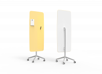 Lintex Mood Flow Mobile glastavle 65x195cm Lively, lys gul