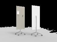 Lintex Mood Mobile glastavle 65x195cm Shy, lys grå