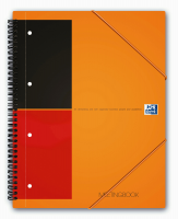 Oxford International MeetingBook A4+ linieret