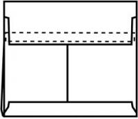 Tyvek konvolutter E4 Expander 406x305x50mm hvid