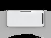 Lintex Note magnetiske flytbar whiteboardtavle 80x180cm