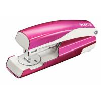 Leitz 5502 NeXXt WOW hæftemaskine pink, 30 ark