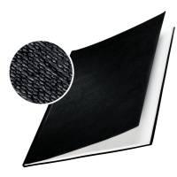 Leitz impressBIND omslag med lærredspræg 3,5mm sort