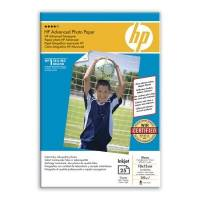 HP 10x15 Advanced Glossy fotopapir 250g, 25 ark