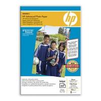 HP 10x15 Advanced Glossy Photo Pap 250g uden kant, 60 ark