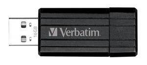 Verbatim USB key 16GB Store 'N' Go Pin Stripe sort