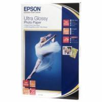 Epson 10x15 Ultra Gloss Photo paper 300g, 20 ark