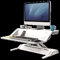 Fellowes Lotus Sit-Stand ergonomisk arbejdsstation hvid