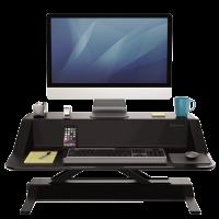 Fellowes Lotus Sit-Stand ergonomisk arbejdsstation sort