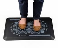 Floortex AFS-TEX 2000 ergonomisk måtte 80x50cm sort