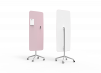 Lintex Flow Mobile glastavle 65x195cm Desirable, lyserød