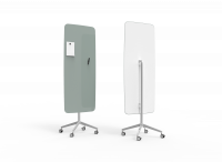 Lintex Flow Mobile glastavle 65x195cm Frank, grågrøn