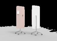 Lintex Flow Mobile glastavle 65x195cm Naive, rosa