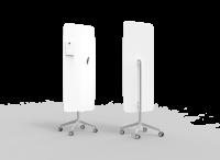 Lintex Flow Mobile glastavle 65x195cm Pure, hvid