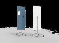 Lintex Mood Flow Mobile glastavle 65x195cm Bold, støvet blå