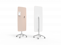 Lintex Mood Flow Mobile glastavle 65x195cm Neat, lys rosa