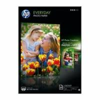 HP A4 Everyday Glossy Photo Paper 200g Q5451A 10 ark pr pakke