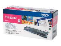 Brother TN230M original lasertoner magenta rød