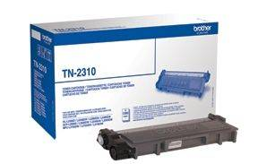 Brother TN2310 original lasertoner sort