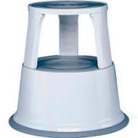 Wedo elefantfod i metal 440mm lys grå