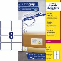 Avery L7165-100 etiketter med QuickPEEL og Ultragrip 99,1x67,7mm