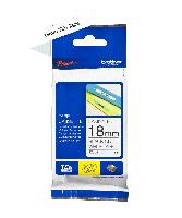 Brother tape TZe241 18mm sort på hvid