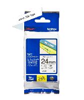 Brother tape TZe251 24mm sort på hvid