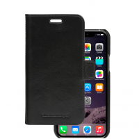 dBramante iPhone 11 Wallet Lynge lædercover, Sort
