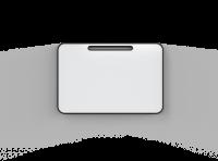 Lintex Note magnetiske flytbar whiteboardtavle 80x120cm