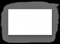 Lintex Wood whiteboard med træ ramme 200x120cm