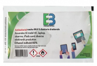 Overfladedesinfektion servietter 85% Ethanol enkeltpakket