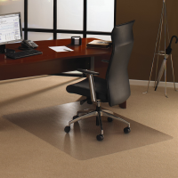 Floortex Ultimate PC stoleunderlag med pigge 120x183cm