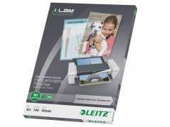 Leitz lamineringslomme UDT A4 80 mic