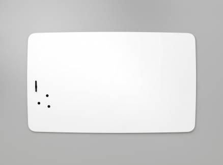 Lintex Air Flow whiteboard 100x120cm med runde hjørner