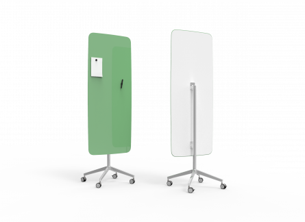 Lintex Flow Mobile glastavle 65x195cm Hopeful, grøn
