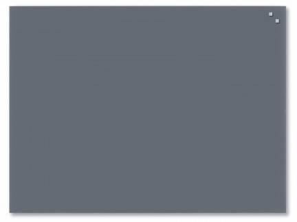 Naga glastavle magnetisk 60x80cm grå