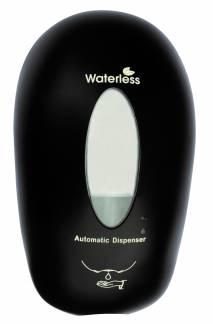 Waterless Håndfri dispenser til hånddesinfektion sort