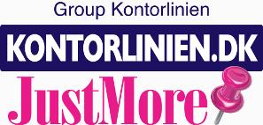 Logo Kontorlinien.dk / Justmore